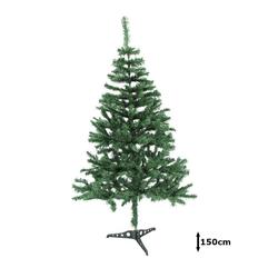 Weihnachts Winter Dekoration Weihnachtsbaum Tannenbaum Tanne grün Tannenbäume 150cm
