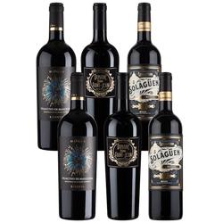 6er-Paket Premium Rotwein - Weinpakete