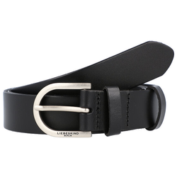 Liebeskind Gürtel Leder black 90 cm