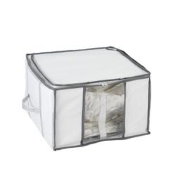 WENKO Vakuum Soft Box, mit Luftventil und Vakuum-Tasche, Maße: B 40 x H 42 x L 25 cm