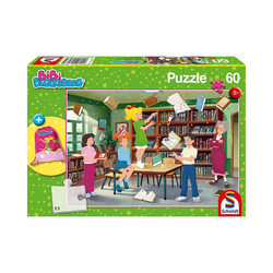 Schmidt Spiele Puzzle Puzzle 60 Teile Bibi Blocksberg mit Turnbeutel, Puzzleteile