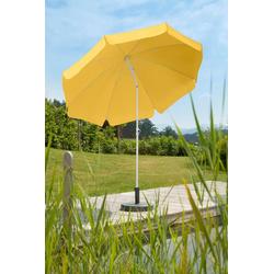 Schneider Schirme Sonnenschirm Ibiza, abknickbar, ohne Schirmständer gelb