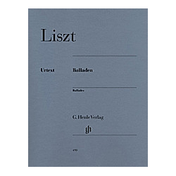 Balladen  Klavier. Franz - Balladen Liszt  - Buch
