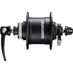 Shimano Fahrradbeleuchtung VR-Nabendynamo Shimano DHT4050 100mm, 32 Loch, Cen