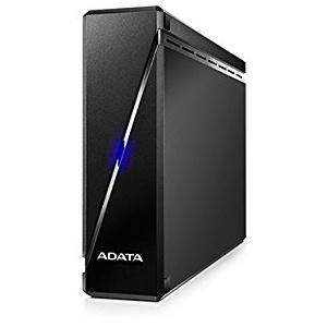 ADATA AHM900-6TU3-CEUBK 6TB Robust Anti-Shock USB 3.0 Externe Festplatte für Multimedia Sprüche konzipiert schwarz