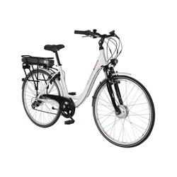 "CHRISSON, E-Bike City Damen, 28 "", 7-Gang, 13.4 Ah weiß"