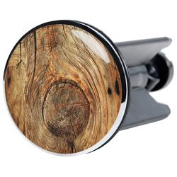 Stöpsel »Rustikal«, für Waschbecken, Ø 4 cm, 48239905-0 braun braun