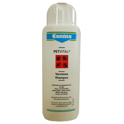 (46,76 EUR/l) Canina Petvital Verminex Shampoo 250 ml, Hund