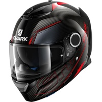 SHARK Spartan Carbon Silicium Carbon-Red/Anthracite