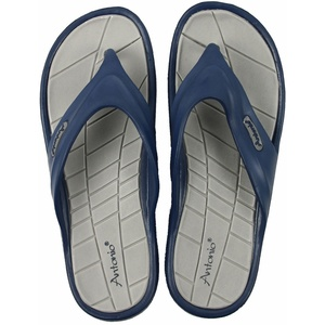 XXL Beach Slipper Men 49 Zehentrenner Blau