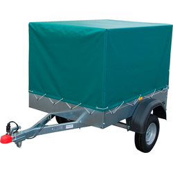 STEMA PKW-Anhänger AN 550, max. 418 kg, inkl. Plane