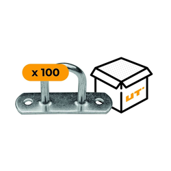 Set: 100 Anhänger-Zurrmulden H-30 mm (07.30)
