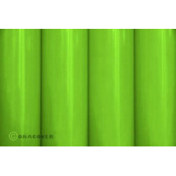 Oracover 21-041-010 Bügelfolie (L x B) 10m x 60cm Grün (fluoreszierend)