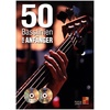 Bosworth Musikverlag 50 Basslinien für Anfänger - Bass Gitarre (Buch/CD/DVD)