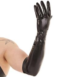 Renegade lange Fisting-Handschuhe (Latex)