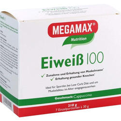 EIWEISS 100 Cappuccino Megamax Pulver 210 g