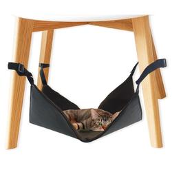 Katzen Hängematte für Stuhlbeine Cat Hammock 40 x 40 x 1 cm