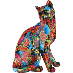 GILDE Tierfigur GILDE Figur Pop Art Katze (1 Stück)