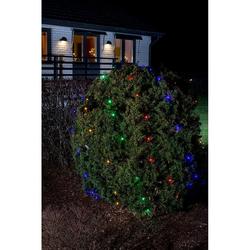 LED Lichternetz 64 bunte Dioden IP44