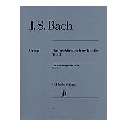 Das Wohltemperierte Klavier  mit Fingersätzen: 2 Bach  Johann Sebastian - Das Wohltemperierte Klavier Teil II BWV 870-893. Johann Sebastian Bach  - Buch