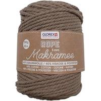 Glorex Makramee Seil 85 m Baumwolle, Polyester
