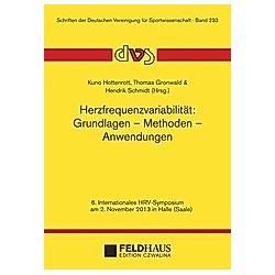 Herzfrequenzvariabilität: Grundlagen - Methoden - Anwendungen - Buch