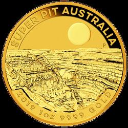1 Unze Gold Australien Super Pit 2019