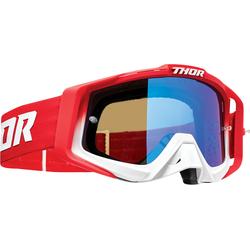 Thor Sniper Pro Fader Motocross Brille, rot