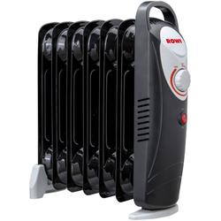 ROWI Ölradiator HOR 800/7/2 Mini, 800 W, 7 Rippen schwarz
