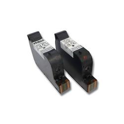 vhbw 2x kompatible Ersatz Tintenpatrone Druckerpatrone Set für Drucker Olivetti Jobjet P200