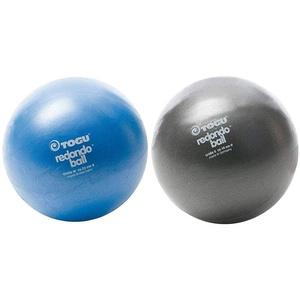 Togu Redondo Ball 22 cm Gymnastikball Pilatesball, blau & Redondo Ball 18 cm Gymnastikball Pilatesball, anthrazit