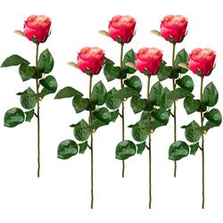 Kunstblume Kunstblume, Creativ green, Höhe 69 cm rosa