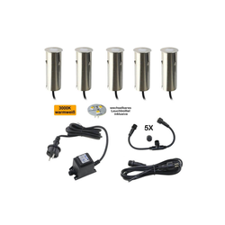 VBLED LED Einbaustrahler LED Mini Bodeneinbauleuchte