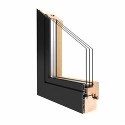 Holz Alu Fenster Drutex Duoline 68 Kiefer Fenster alle Größen