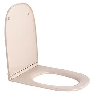 Roca Dama Retro Visón A801327194 Toilettensitz, Brille und Deckel
