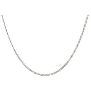 JuwelmaLux Panzerkette Halskette Weißgold Panzerkette (1-tlg), Damen Halskette Weißgold 585/000, inkl. Schmuckschachtel 45 cm