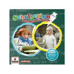 Pippi Langstrumpf - Schulbeginn mit Astrid Lindgren (CD)