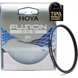 Hoya Fusion One UV Filter (82mm, UV-Filter), Objektivfilter, Schwarz, Transparent