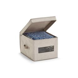 HTI-Living Aufbewahrungsbox Aufbewahrungsbox mit Deckel Stripes, Aufbewahrungsbox 30 cm x 25 cm x 39.5 cm