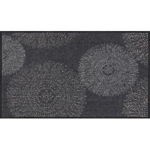 Salonloewe Fußmatte grau Größe 75x120 cm