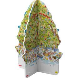 CARLSEN Pixi: Adventskalender Tannenbaumform 2020