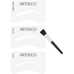 Artdeco Eye Brow Stencil Augenbrauen-Pinsel mit Schablonen