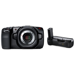 Blackmagic Pocket Cinema Kamera 4K + Batteriegriff