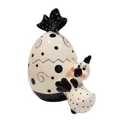 G. Wurm Aufbewahrungsdose Vorratsdose Ei mit Henne
