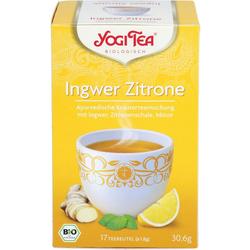 YOGI TEA Ingwer Zitrone Bio Filterbeutel 31 g