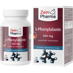 L-PHENYLALANIN 500 mg veg.HPMC Kaps.Zein Pharma 90 St.