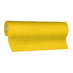 Tischläufer Airlaid 24m x 40cm - alle 120cm perforiert, stoffähnlich, gelb