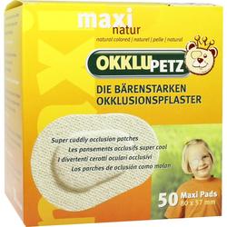 Okklupetz Okklusionspflaster Maxi Natur