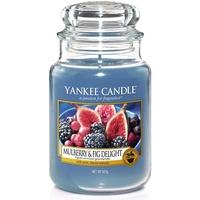 Yankee Candle Mulberry & Fig Delight große Kerze 623 g