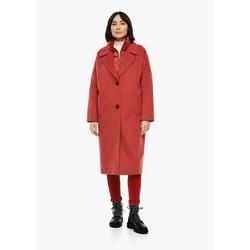 s.Oliver Funktionsmantel Oversized Mantel mit Satinfutter rot 46